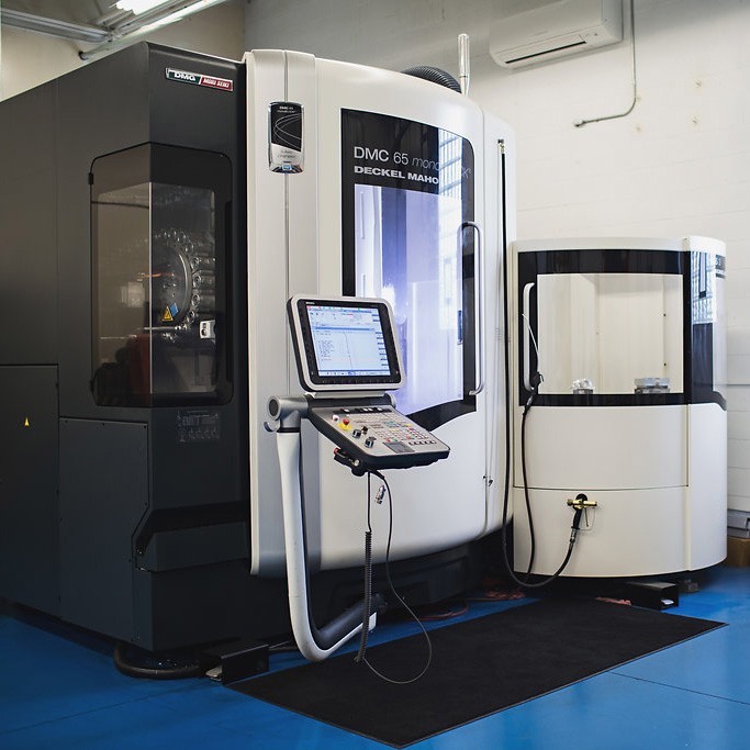 5-AXIS PRODUCTION MILLING